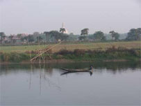 Sri Ganga, at Antardvipa, Mayapura, in Sri Navadvipa Dham