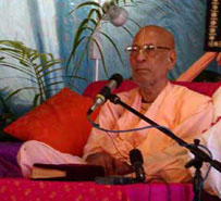Srila Narayana Maharaja giving this lecture in Murwillumbah.