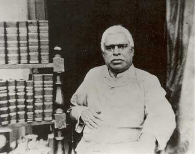 Portrait of Śrīla Saccidānanda Bhaktivinoda Ṭhākura