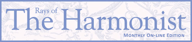 Rays of The Harmonist On-Line Edition