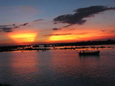 Sunset on Yamuna