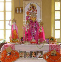 The presiding deities of the Matha.
