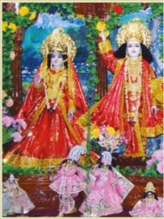 Sri Rupa Sanatana Gaudiya Math - Vrindvana, India