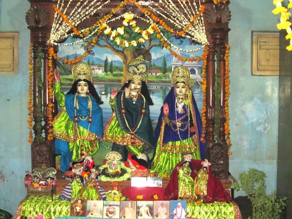 Srila Gurudeva's Tirobhava Mahotsava in Seva-kunja